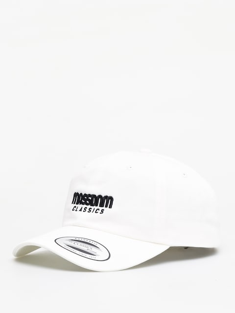 Šiltovka MassDnm Classics ZD (white)