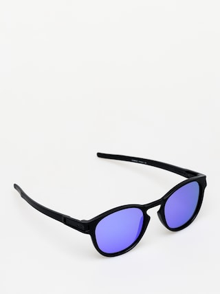 Slnečné okuliare Oakley Latch (matte black/violet iridium)