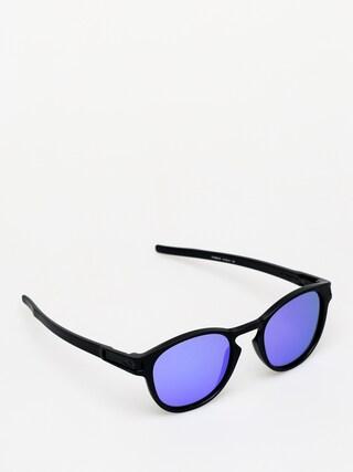 Slneu010dnu00e9 okuliare Oakley Latch (matte black/violet iridium)