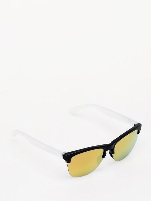 Slnečné okuliare Oakley Frogskins Lite (matte black/prizm rose gold)