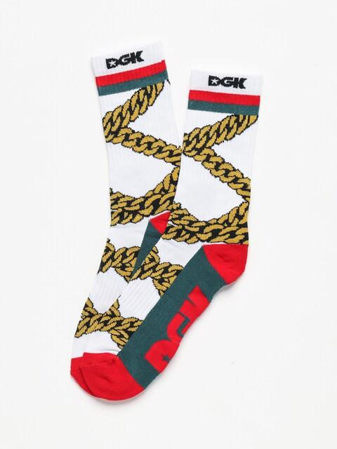 Ponožky DGK Chains (white)