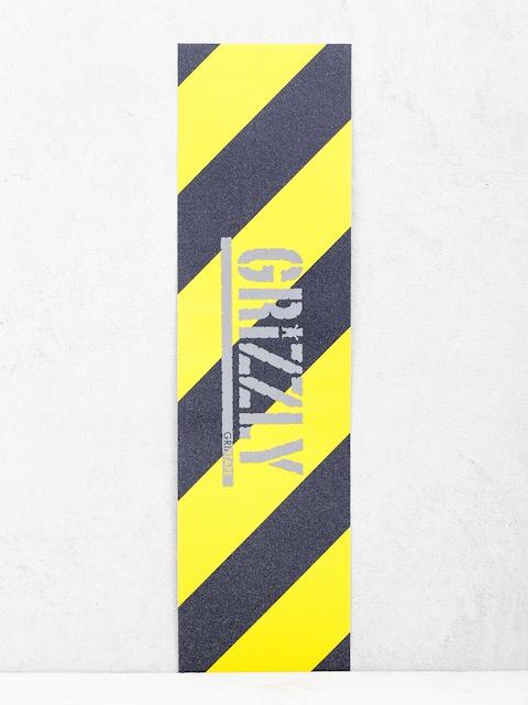 Grip Grizzly Griptape Hazard Stamp Griptape (yellow)