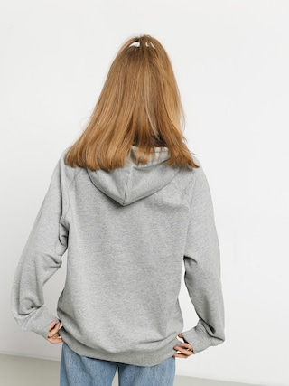 Mikina s kapucňou Carhartt WIP Chase HD Wmn (grey heather/gold)