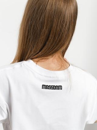 Tričko MassDnm Classics Small Logo Wmn (white)