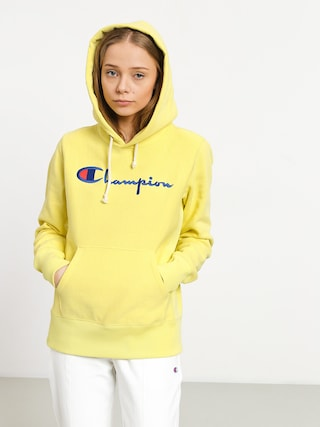 Mikina s kapucu0148ou Champion Premium Reverse Weave Hooded Sweatshirt HD Wmn (lml)
