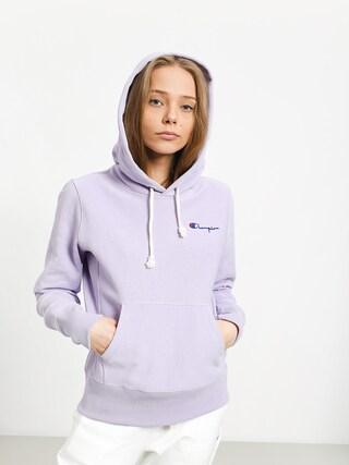 Mikina s kapucňou Champion Premium Reverse Weave Hooded Sweatshirt HD Wmn (pli)