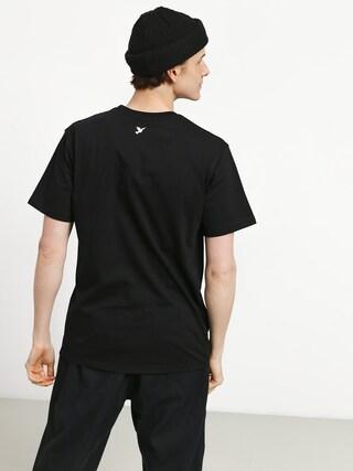 Tričko Nervous Camo (black)