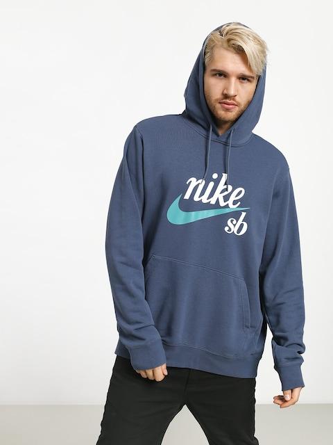 Mikina s kapucňou Nike SB Sb Hoodie Washed Icon HD