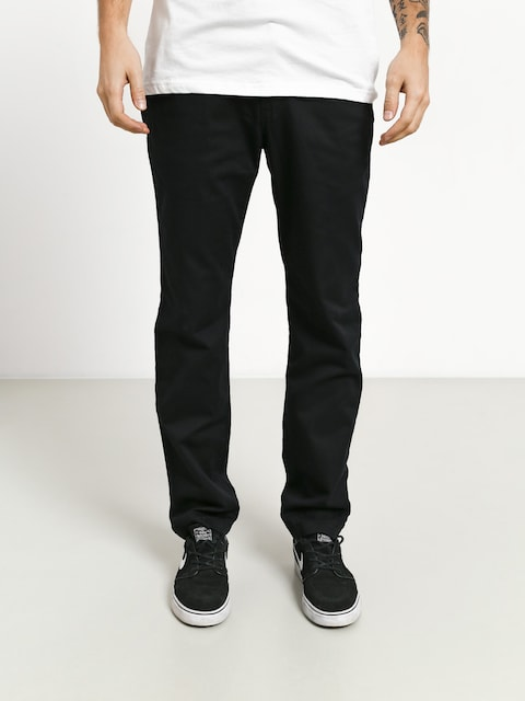 Nohavice Vans Authentic Chino S (black)
