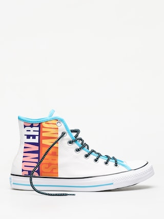 Tenisky Converse Chuck Taylor All Star Hi (white/gnarly blue/white)