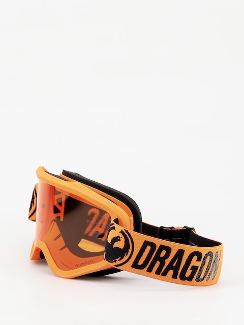 Okuliare na snowboard Dragon MXV (break orange/lumalens amber)