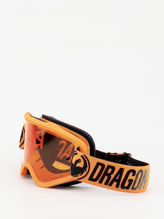 Okuliare na snowboard Dragon MXV (break orange/lumalens amber)