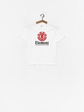 Tričko Element Vertical Boy (optic white)