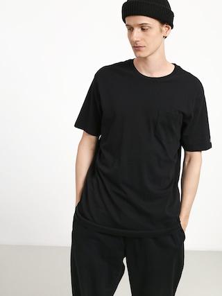 Tričko Volcom Solid Pocket (blk)