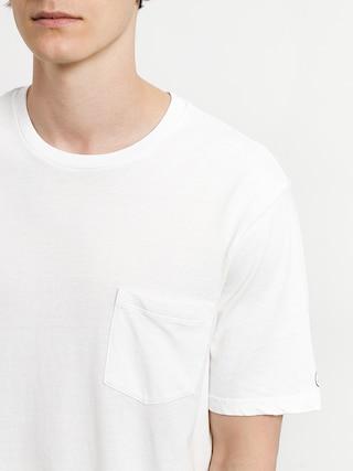 Tričko Volcom Solid Pocket (wht)