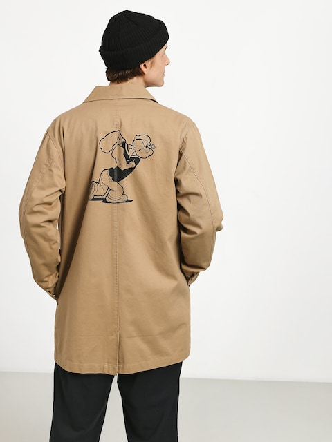 Bunda HUF Popeye Trench (tan)