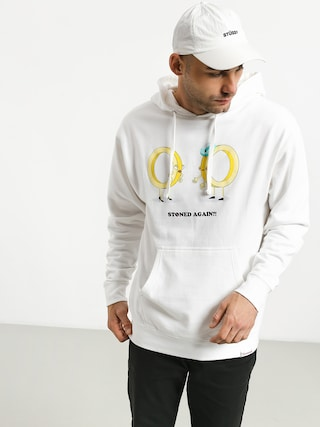 Mikina s kapucňou Diamond Supply Co. Stoned Again HD (white)