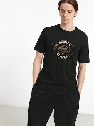 Tričko Brixton Mercury Prt (black)