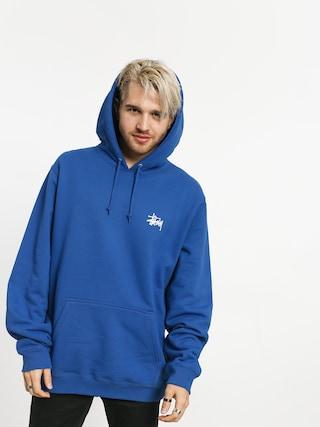 Mikina s kapucňou Stussy Basic HD (blue)