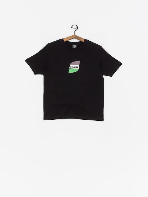Tričko Stussy Stripes Wmn (black)