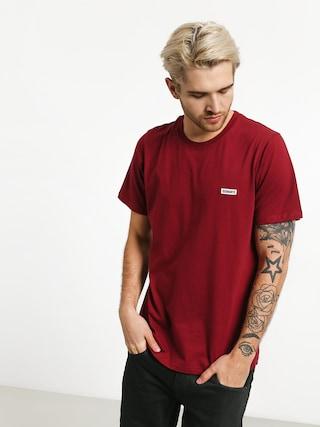Tričko Diamante Wear Basic (burgundy)