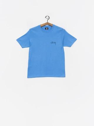 Tričko Stussy Stock Wmn (blue)