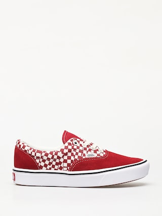 Topánky Vans ComfyCush Era (tear check/racing red/true white)