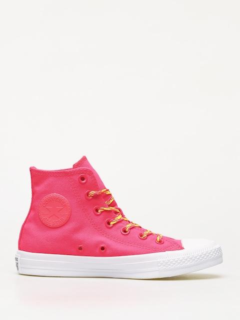 Tenisky Converse Chuck Taylor All Star Hi Glow Up Wmn (dark pink)