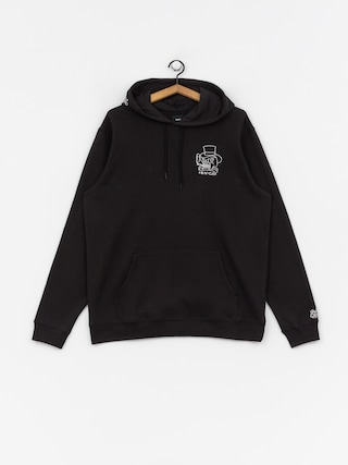 Mikina s kapucňou RVCA Pick Your Battles HD (rvca black)