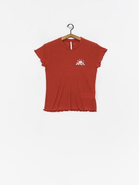 Tričko RVCA Everose (burnt red)