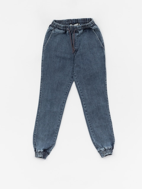 Nohavice Diamante Wear Rm Jeans Jogger (blue marmur jeans)