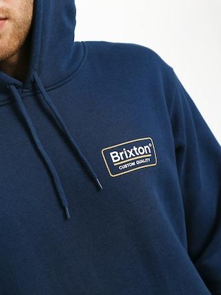 Mikina s kapucňou Brixton Palmer Intl HD (deep blue)