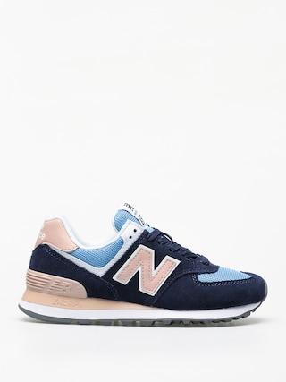 Topu00e1nky New Balance 574 Wmn (navy/pink)