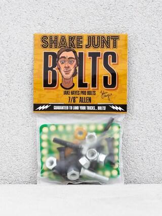 Skrutky Shake Junt Jake Hayes Pro Bolts Allen (gold/silver/black)