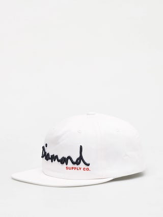 Šiltovka Diamond Supply Co. Og Script Snapback ZD (white)