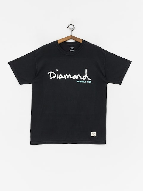 Tričko Diamond Supply Co. Og Script Overdye