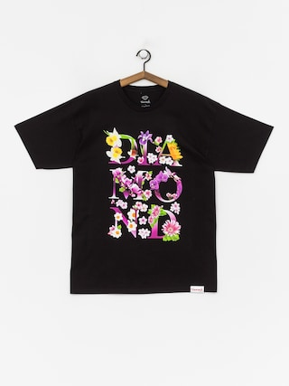 Tričko Diamond Supply Co. Botanical (black)