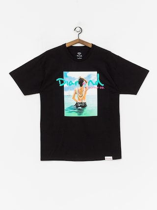 Tričko Diamond Supply Co. Waist Deep (black)
