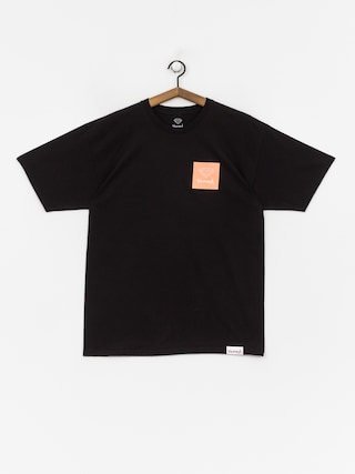 Tričko Diamond Supply Co. Mini Og Sign (black/orange)