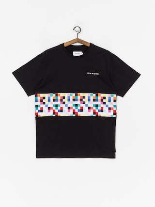 Tričko Diamond Supply Co. Pixel Panel (black)