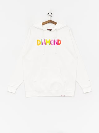 Mikina Diamond Supply Co. Watercolor (white)