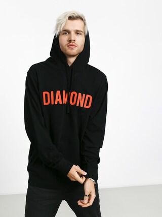 Mikina s kapucňou Diamond Supply Co. Diamond French Terry (black)