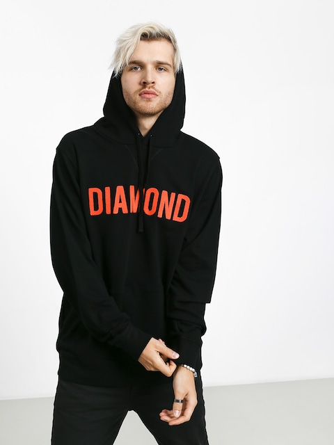 Mikina Diamond Supply Co. Diamond French Terry (black)