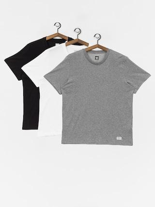 Tričko adidas New 3 Pck (core heather/white/black)