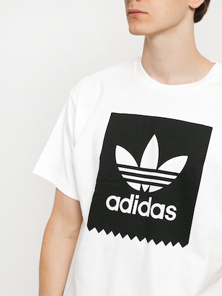 Tričko adidas Solid Bb (white/black)