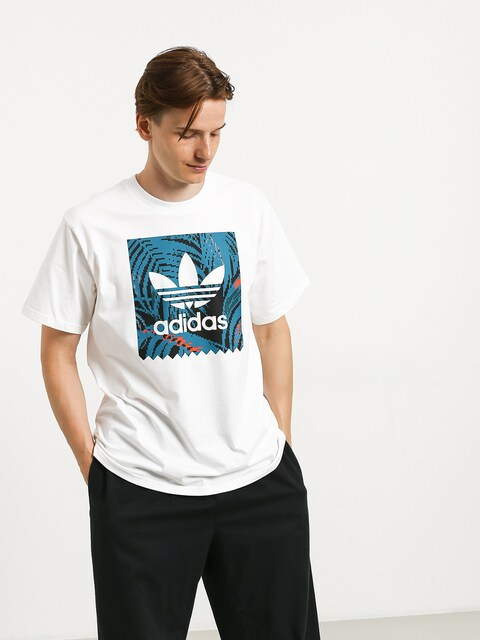 Tričko adidas Bb Print (white/active teal/active orange)