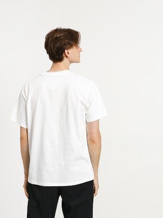 Tričko adidas Bb Print (white/active teal/active orange)