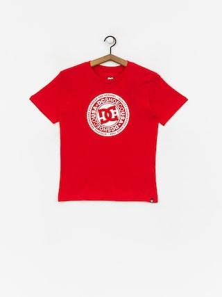 Tričko DC Circle Star (racing red)