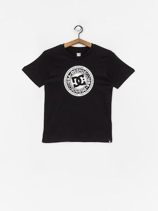 Tričko DC Circle Star (black)