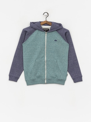 Mikina s kapucu0148ou Quiksilver Every Day ZHD (mdival bl/strmys htr)